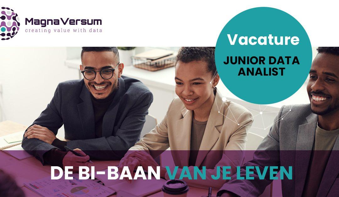 Vacature Junior data analytics | Business intelligence consultant