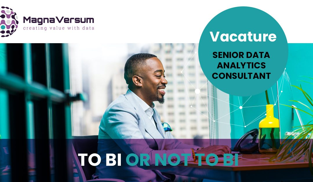 Senior business intelligence | Data analytics consultant